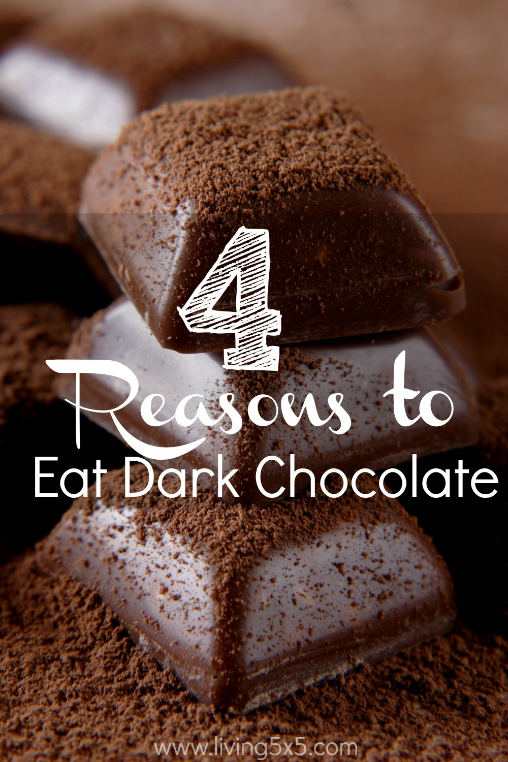 Did you know there are benefits of dark chocolate? Learn the facts behind it, and enjoy a bar or two guilt free.