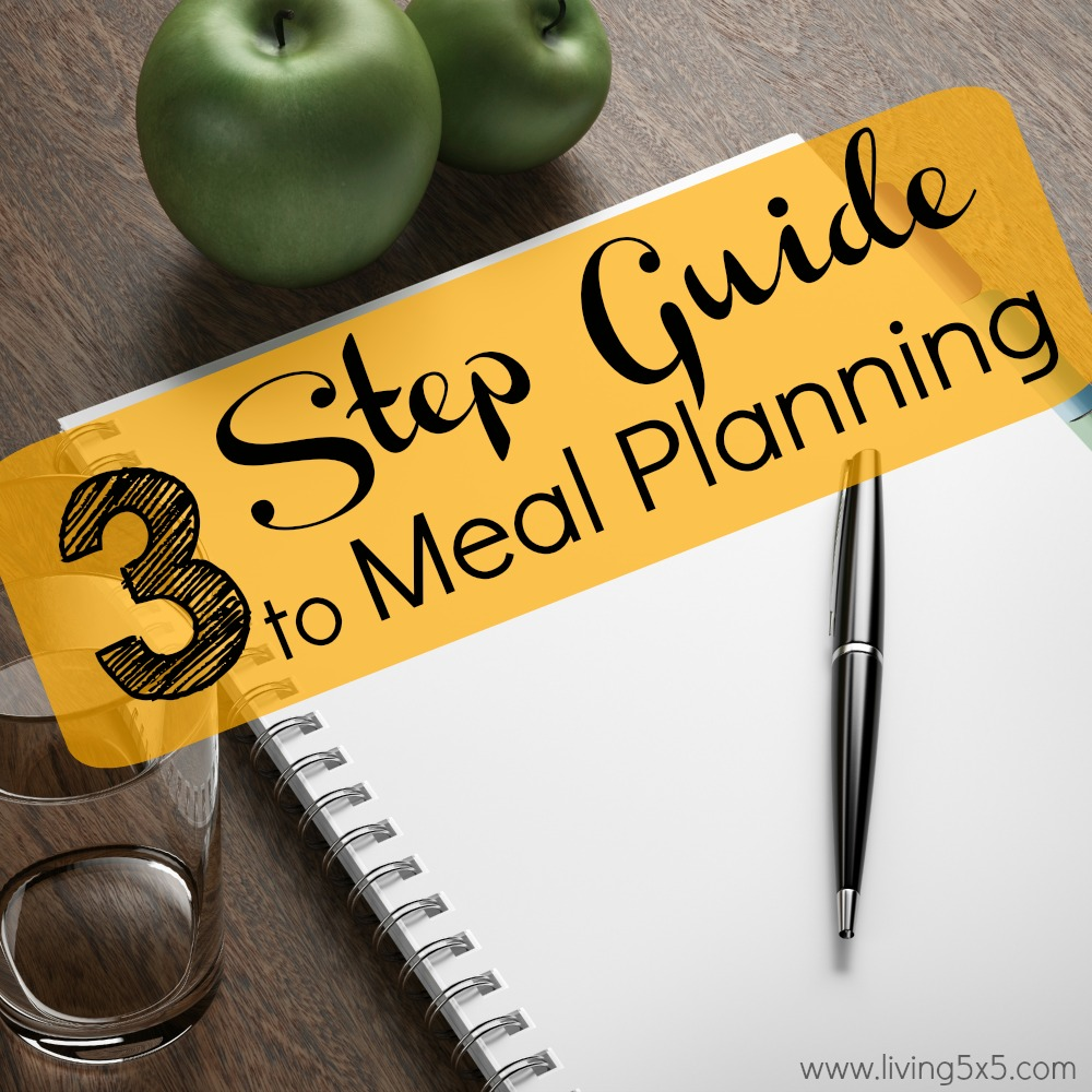 When you move to the countryside of things, weekly meal planning can definitely come in handy. Make sure to always prepare ahead of time!