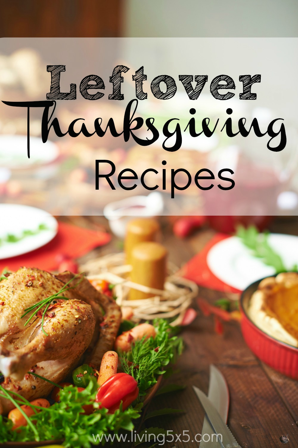 Turn your leftover Thanksgiving dinner into these delicious leftover Thanksgiving recipes for the next few days! You will not be disappointed.