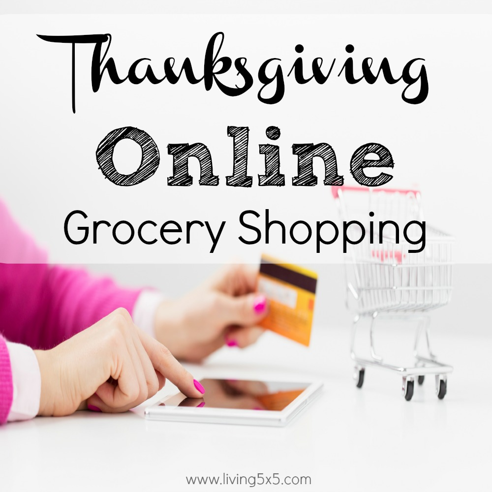 With Thanksgiving online grocery shopping, you can easily breeze through the aisles with a few clicks from home! It's incredibly convenient and stress free.