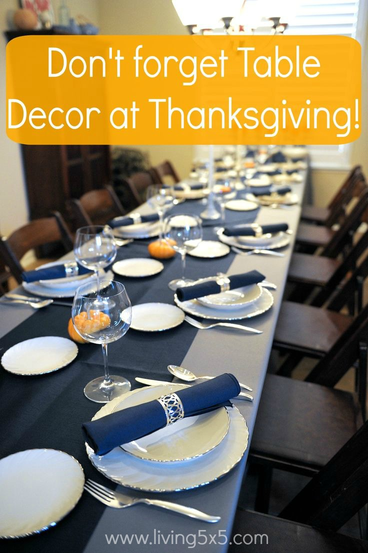 Thanksgiving day meal planning is plenty of work, however, elevate your ordinary table decorations into a more elegant setting.