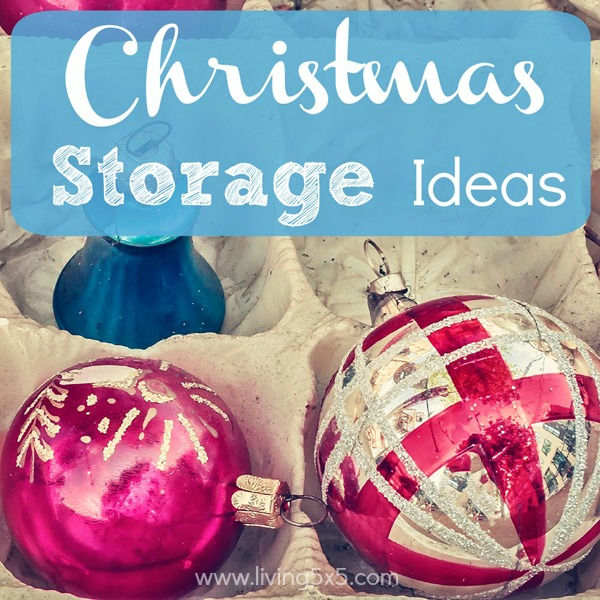 Need a little help organizing after Christmas? Get these Christmas storage ideas to keep you neat, and tidy for next year.
