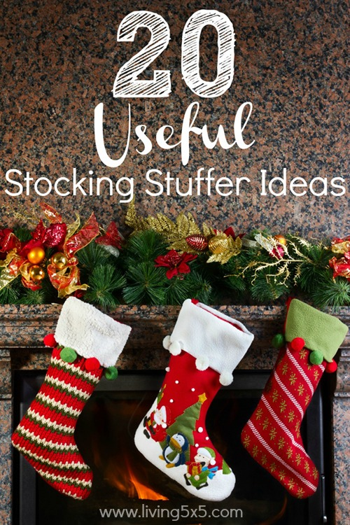 It's more than just a sock full of candy! Try these 20 useful stocking stuffer ideas that will be much appreciated. Make it count for the entire family.