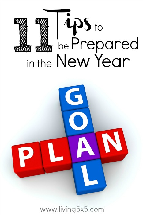 Be prepared for the New Year! Set your goals and make your action plan now with my 11 tips that could inspire your own goals in the new year!