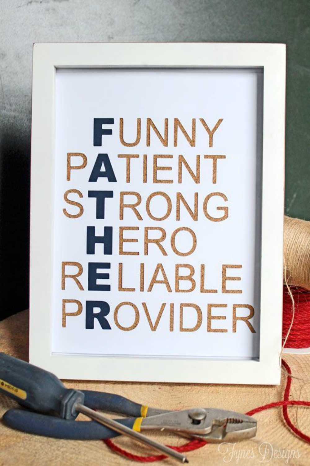 Homemade Father\'s Day Gifts- Happiness Matters