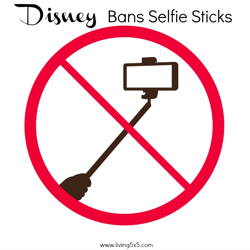 A few weeks ago, Disney officially bans Selfie Sticks, also known as a Monopods. Read more on why, and how you can still use yours elsewhere.